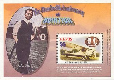 [The 100th Anniversary of Powered Flight - The Commermoration of Alliott Vernon Roe, 1877-1970, Typ ]