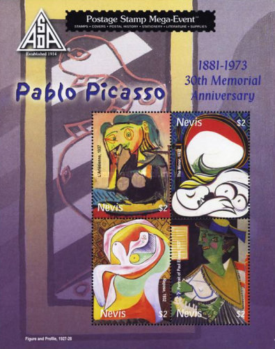 [The 30th Anniversary of the Death of Pablo Picasso, 1881-1973, Typ ]