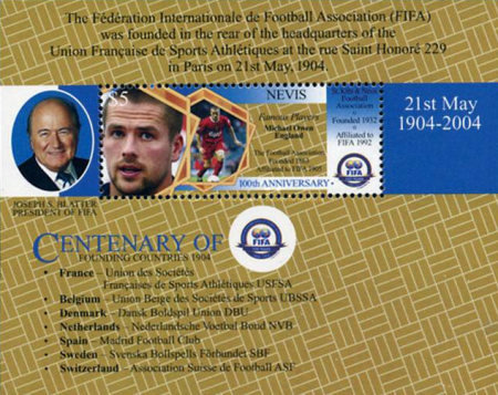 [The 100th Anniversary of FIFA and Football World Cup, Typ ]