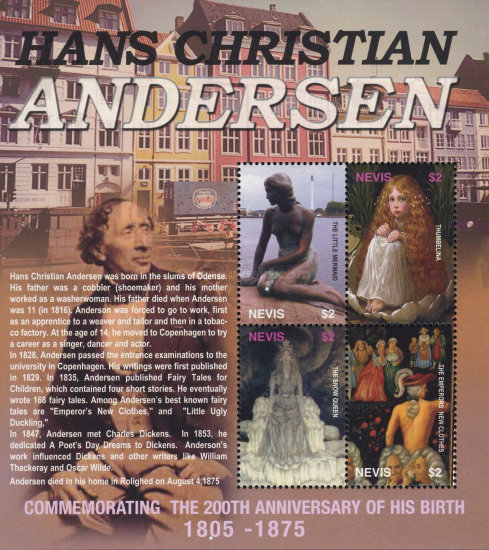 [The 200th Anniversary of the Birth of Hans Christian Andersen, 1805-1875, Typ ]