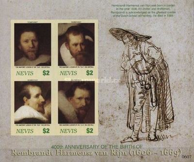 [The 400th Anniversary of the Birth of Rembrandt, 1606-1669, Typ ]