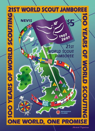 [The 100th Anniversary of Scout Movement and 21st World Scout Jamboree, Chelmsford, England, Typ ]