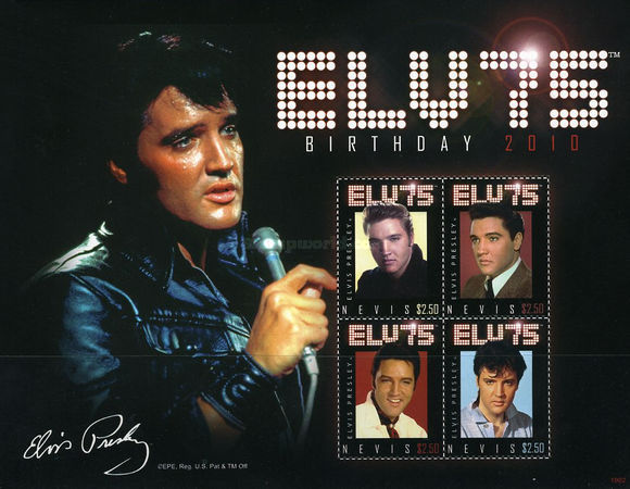 [The 75th Anniversary of the Birth of Elvis Presley, Typ ]