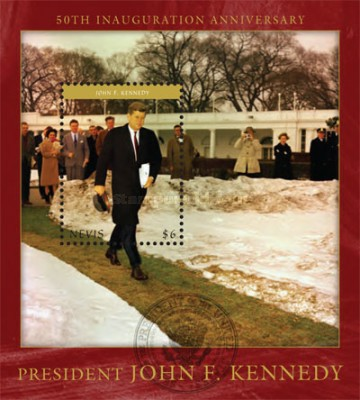 [The 50th Anniversarey of the Inaguration of President John F. Kennedy, 1917-1963, Typ ]