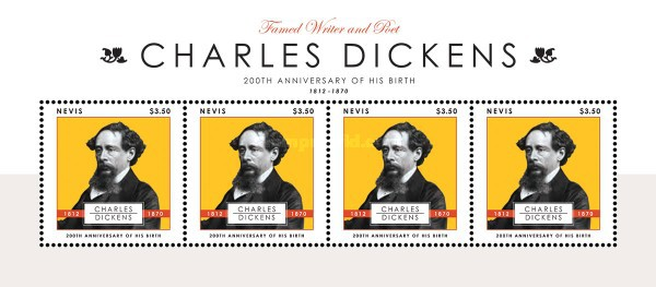 [The 200th Anniversary of the Birth of Charles Dickens, 1821-1870, Typ ]
