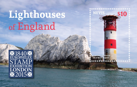 [Lighthouses of England - World Stamp Exhibition LONDON 2015, Typ ]