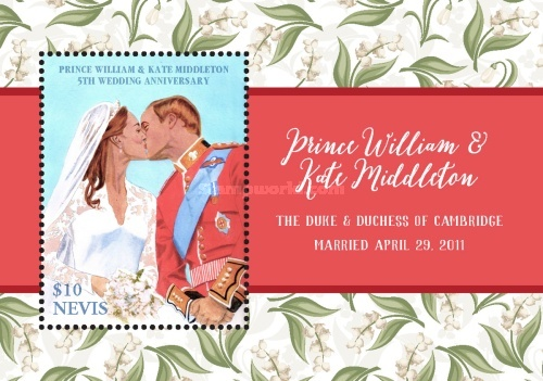 [The 5th Wedding Anniversary of Prince William & Kate Middleton, Typ ]