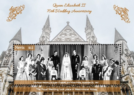[The 70th Anniversary of the Wedding of Queen Elizabeth II and Prince Philip, Typ ]
