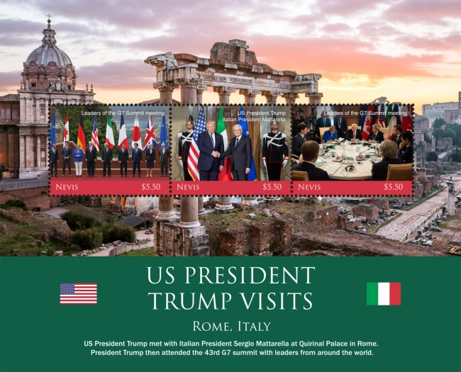 [U.S. President Donald Trump Visits Italy, Typ ]
