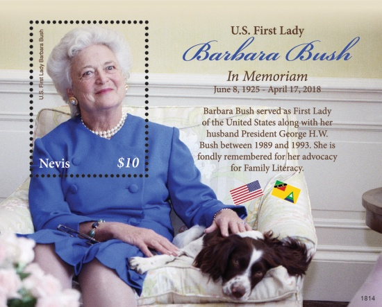 [Barbara Bush, 1925-2018, Typ ]
