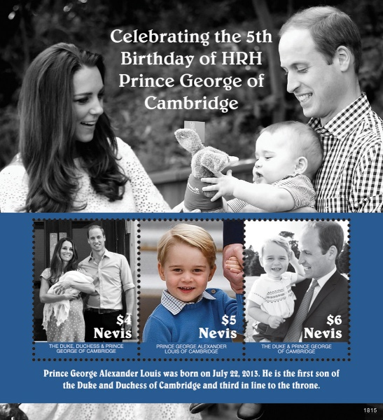 [The 5th Anniversary of the Birth of Prince George, Typ ]