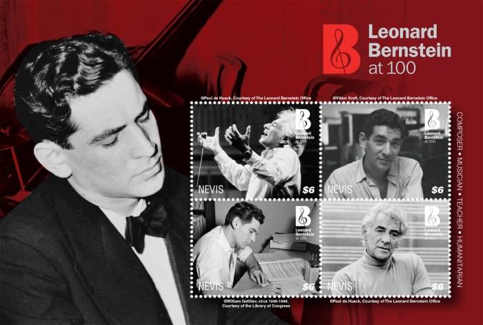 [The 100th Anniversary (2018) of the Birth of Leonard Bernstein, 1918-1990, type ]