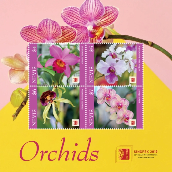 [Orchids - International Stmap Exhibition SINGPEX 2019, Singapore, Typ ]