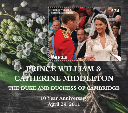 [The 10th Wedding Anniversary of Prince William & Kate Middleton, type ]