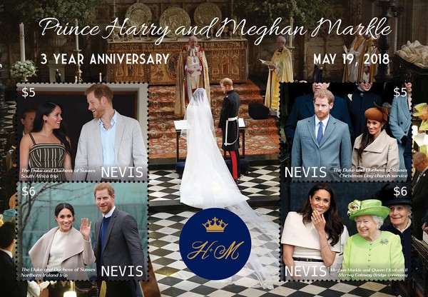 [The 3rd Royal Wedding Anniversary of Prince Harry and Meghan Markle, type ]