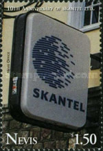 [The 10th Anniversary of SKANTEL, Telecommunications Company, Typ AIE]