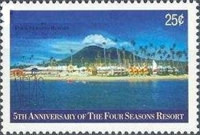 [The 5th Anniversary of Four Seasons Resort, Nevis, Typ AIQ]