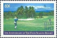 [The 5th Anniversary of Four Seasons Resort, Nevis, Typ AIS]