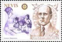 [The 50th Death Anniversary of Paul Harris, founder of Rotary International, Typ ANB]