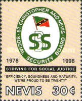 [The 20th Anniversary of Social Security Board, Typ AQH]
