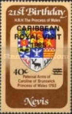 [Royal Visit - Issues of 1981, 1982, 1983, and 1985 Overprinted