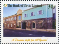 [The 30th Anniversary of The Bank of Nevis, Typ DLM]