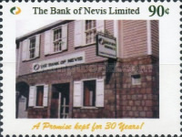 [The 30th Anniversary of The Bank of Nevis, Typ DLN]