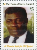 [The 30th Anniversary of The Bank of Nevis, Typ DLO]