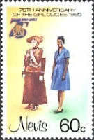 [The 75th Anniversary of Girl Guide Movement, Typ HZ]