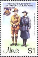 [The 75th Anniversary of Girl Guide Movement, Typ IA]