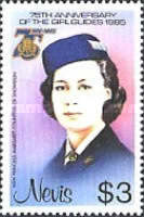 [The 75th Anniversary of Girl Guide Movement, Typ IB]