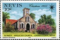 [Christmas - Churches of Nevis, Typ JS]