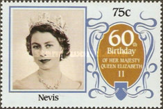 [The 60th Anniversary of the Birth of Queen Elizabeth II, Typ LD]