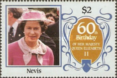 [The 60th Anniversary of the Birth of Queen Elizabeth II, Typ LE]