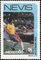 [Football World Cup - Mexico 1986, Typ LI]