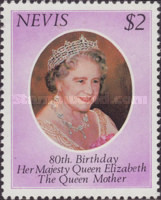 [The 80th Anniversary of the Birth of Queen Elizabeth the Queen Mother, 1900-2002, Typ N]