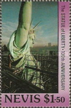 [The 100th Anniversary of Statue of Liberty, Typ NO]