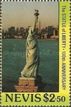 [The 100th Anniversary of Statue of Liberty, Typ NQ]