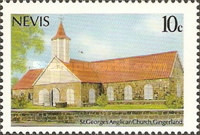 [Christmas - Churches of Nevis, Typ OA]