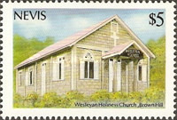 [Christmas - Churches of Nevis, Typ OD]
