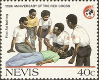 [The 125th Anniversary of International Red Cross, Typ PJ]