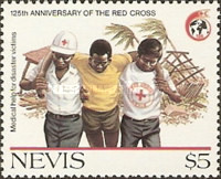 [The 125th Anniversary of International Red Cross, Typ PL]