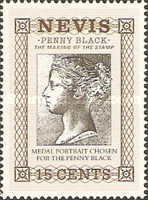[The 150th Anniversary of the Penny Black, Typ QS]
