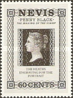 [The 150th Anniversary of the Penny Black, Typ QU]