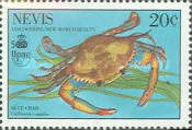 [The 500th Anniversary of Discovery of America by Columbus - New World Natural History-Crabs, Typ RE]