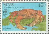 [The 500th Anniversary of Discovery of America by Columbus - New World Natural History-Crabs, Typ RF]