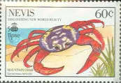[The 500th Anniversary of Discovery of America by Columbus - New World Natural History-Crabs, Typ RG]