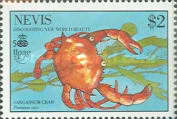 [The 500th Anniversary of Discovery of America by Columbus - New World Natural History-Crabs, Typ RH]