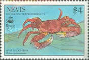 [The 500th Anniversary of Discovery of America by Columbus - New World Natural History-Crabs, Typ RJ]