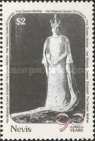 [The 90th Anniversary of the Birth of Queen Elizabeth the Queen Mother, 1900-2002, Typ RO]